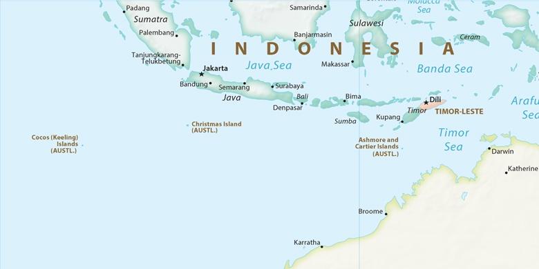 Yakarta En El Mapa